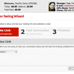 The Conversion Testing Wizard