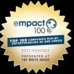 PeerFly is one of the 2012 Empact100 Top Companies!