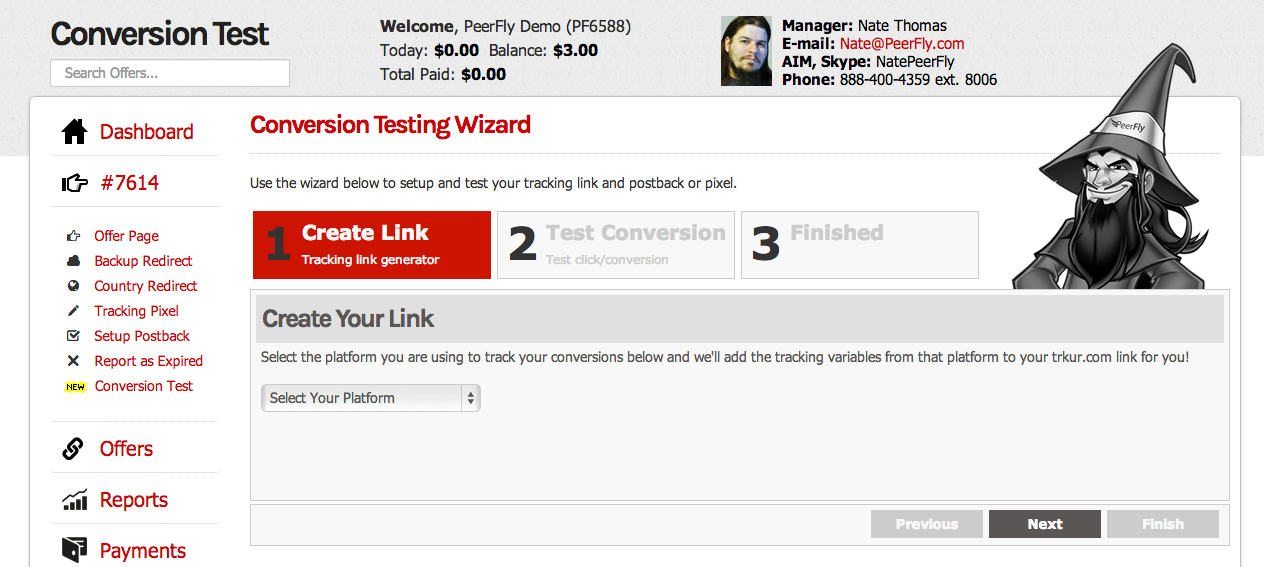 Conversion Testing Wizard