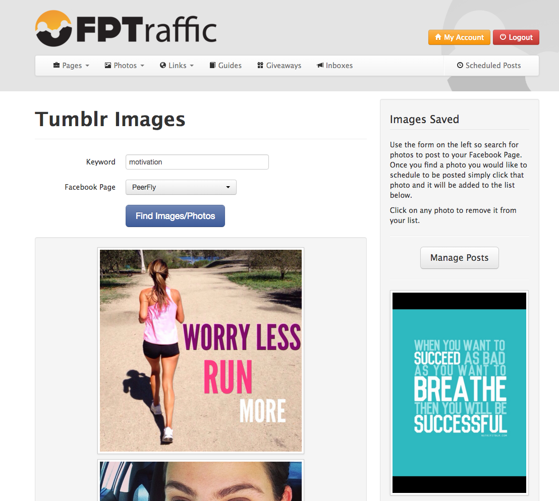 FPTraffic's image search
