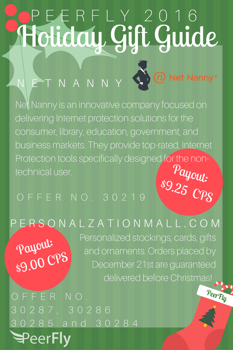 NetNanny and PersonalzationMall.com info from Holiday Gift Guide